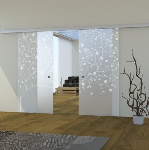 Pareti vetrate che separano e arredano gli ambienti